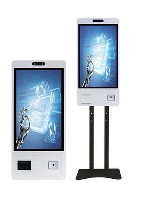 "RK3399 21.5"" Self Service Payment Kiosk 250nits FHD HDMI"